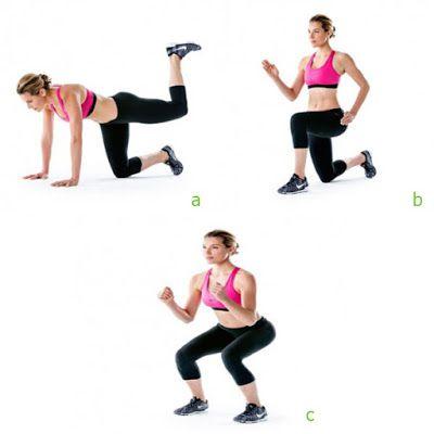 bài tập gym cho nữ