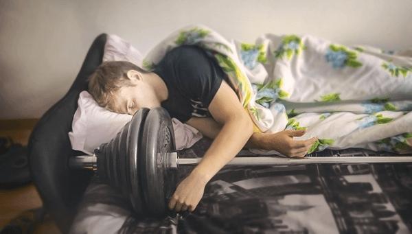 tập gym khi đang bị bệnh
